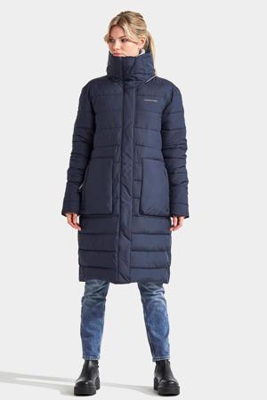 gewatteerde jas Hilda donkerblauw