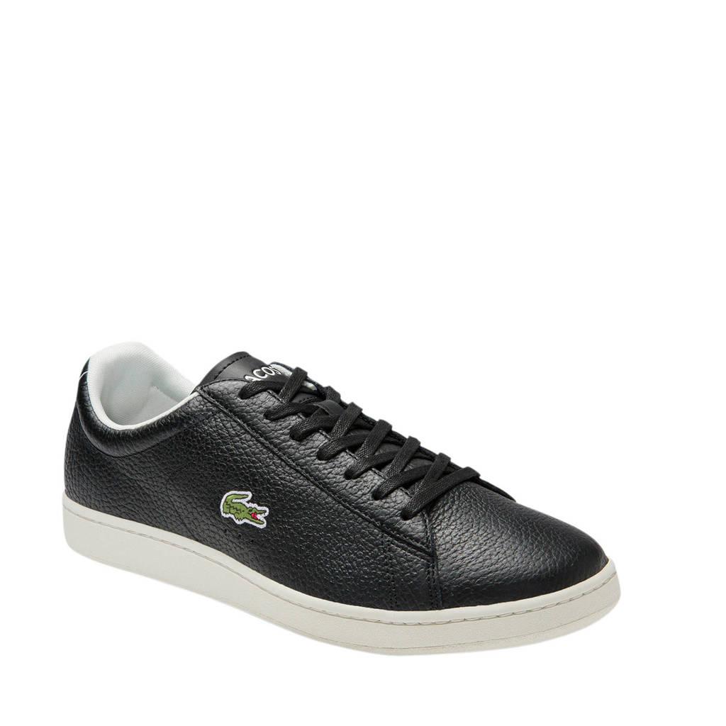 Lacoste Carnaby Evo 120 6  sneakers zwart, Zwart