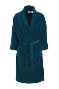 Vandyck velours badjas donkerblauw, Donkerblauw