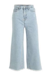 C&A Clockhouse high waist culotte jeans lichtblauw, Lichtblauw