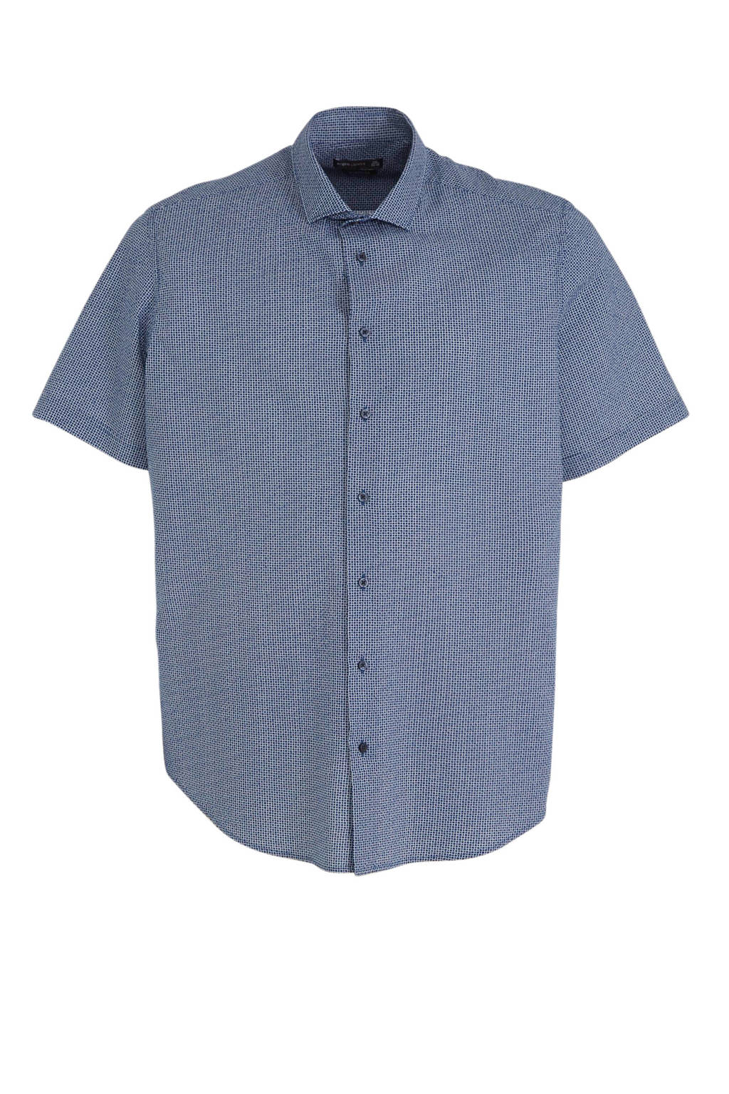 C&A XL Angelo Litrico regular fit overhemd blauw, Blauw
