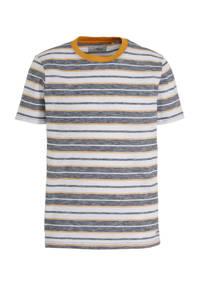 PRODUKT gestreept T-shirt van biologisch katoen grijs, Grijs