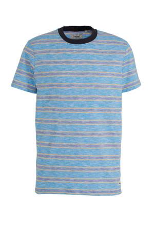 gestreept T-shirt van biologisch katoen wit
