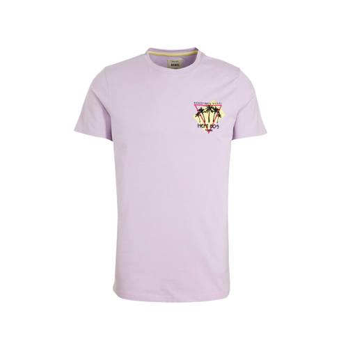 Redefined Rebel T-shirt van biologisch katoen lila