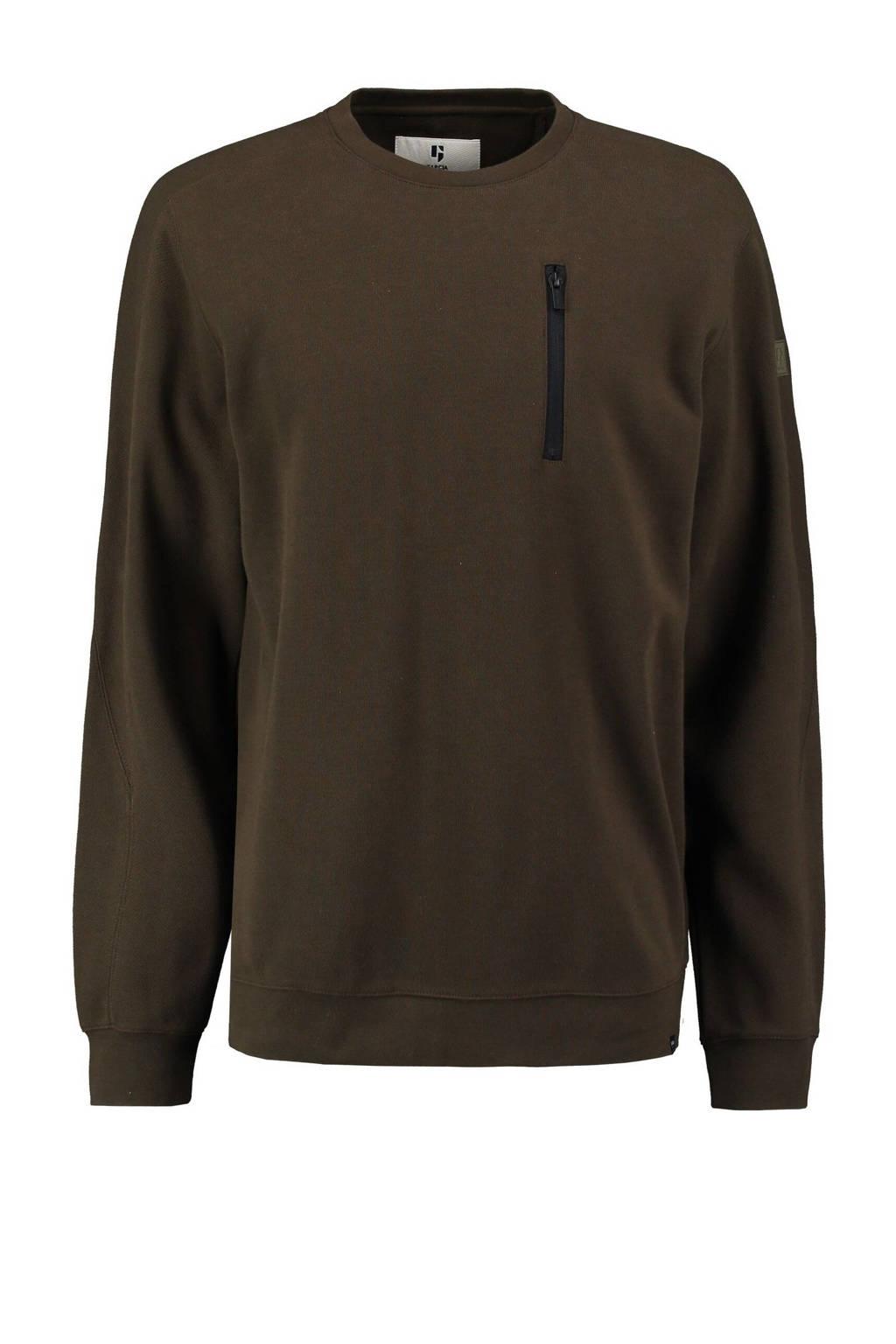 Garcia sweater legergroen, Legergroen