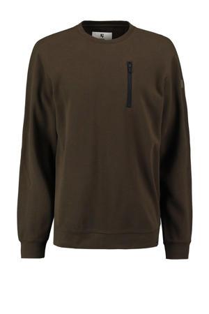 sweater legergroen
