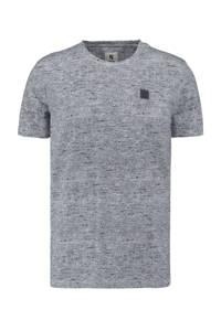Garcia T-shirt met all over print donkerblauw, Donkerblauw