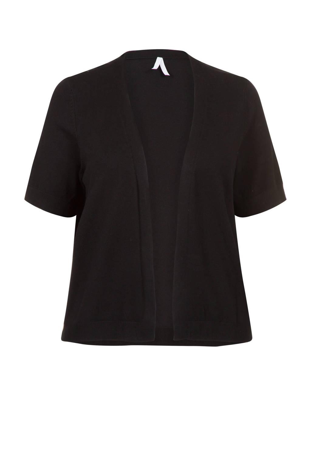 Miss Etam Plus vest zwart, Zwart
