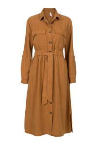Miss Etam Regulier blousejurk bruin, Bruin