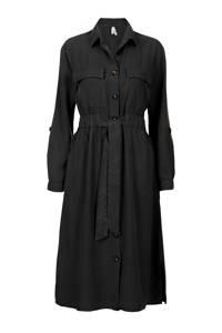 Miss Etam Regulier blousejurk zwart, Zwart