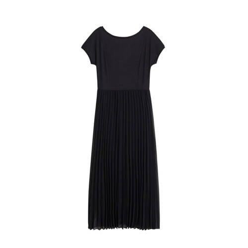 Mango semi-transparante jurk zwart