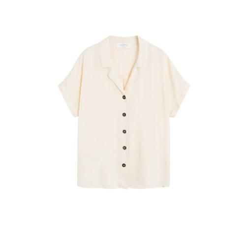 Violeta by Mango blouse zand