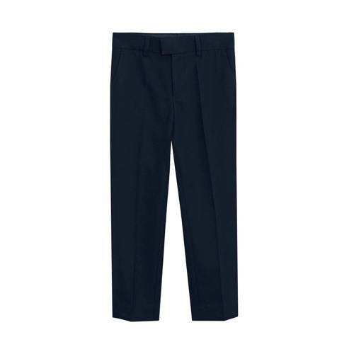 Mango Kids pantalon donkerblauw