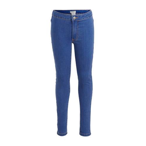 Mango Kids super skinny jeans donkerblauw