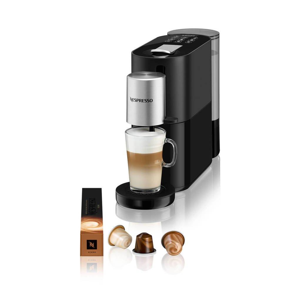 Krups Atelier XN8908 koffieapparaat, Zwart