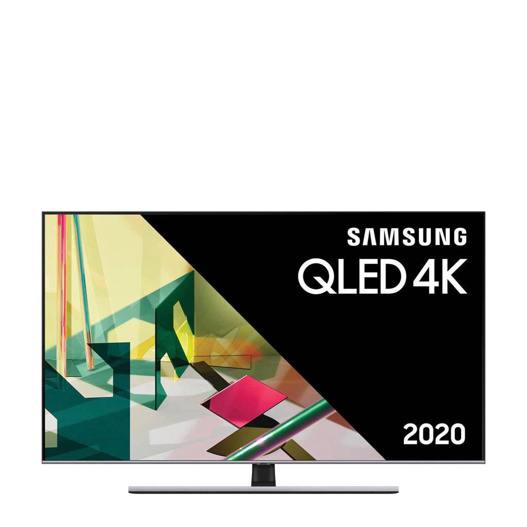 Samsung QE55Q75T (2020) 4K Ultra HD QLED tv, Zwart