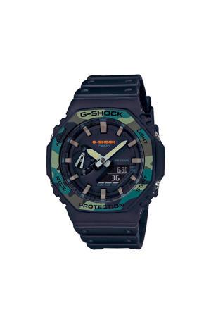 Classic horloge GA-2100SU-1AER zwart
