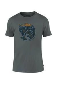 Fjällräven outdoor T-shirt grijs, Grijs