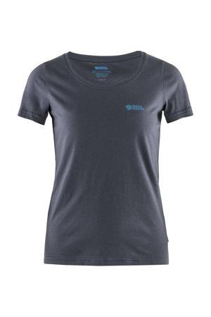 outdoor T-shirt donkerblauw