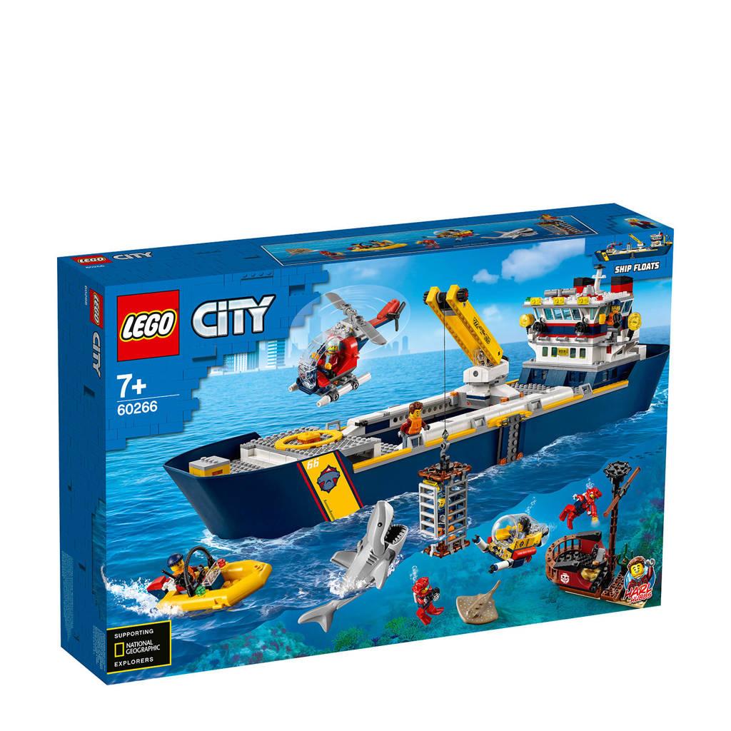 LEGO City Oceaan Onderzoekschip 60266