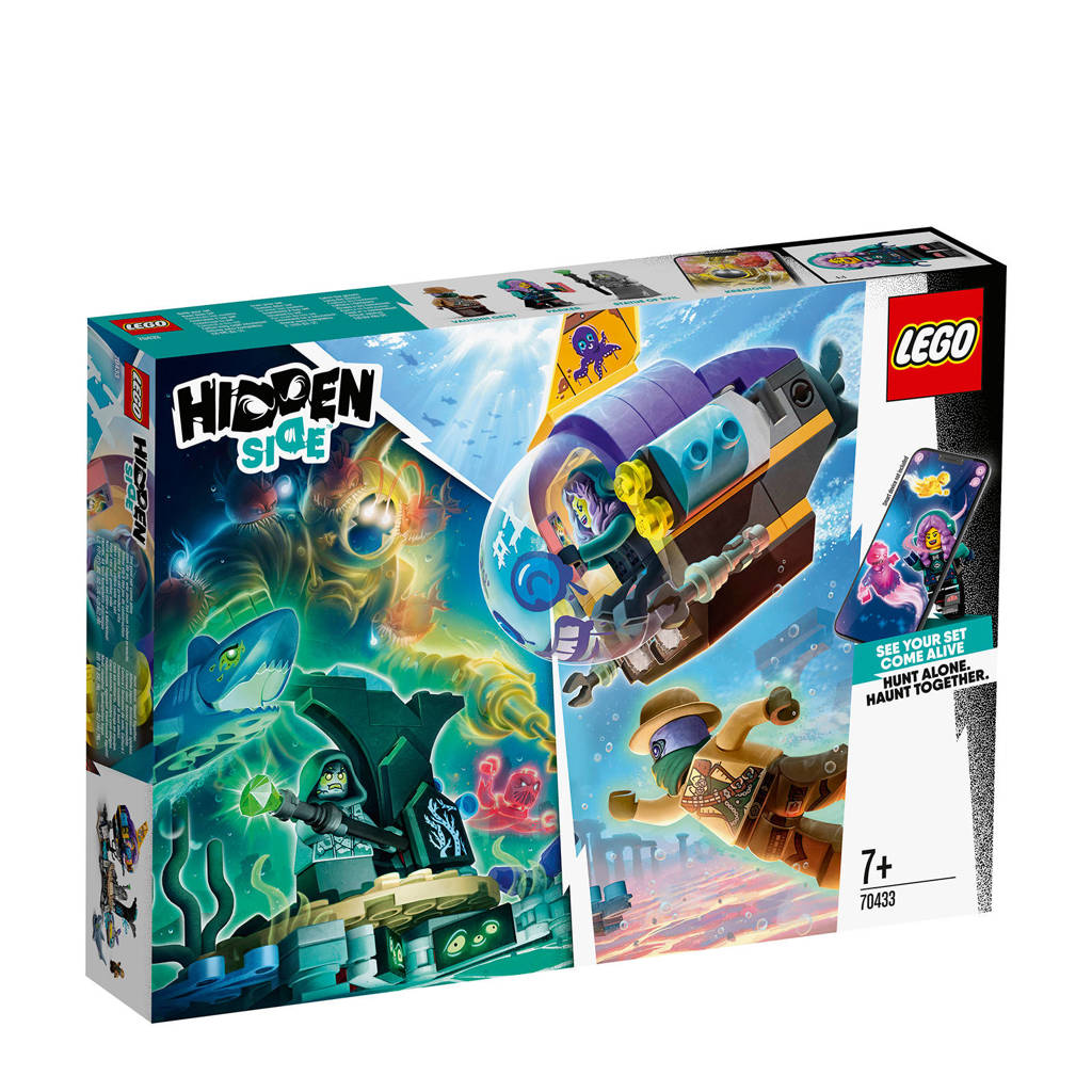 LEGO Hidden Side J.B.'s Duikboot 70433