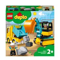 LEGO Duplo Truck & Tracked Excavator 10931