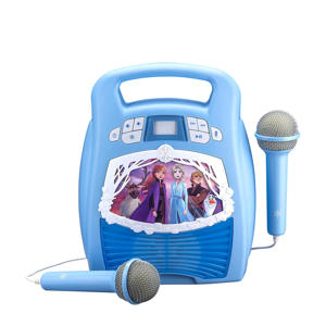 Karaoke-speler met microfoon en licht