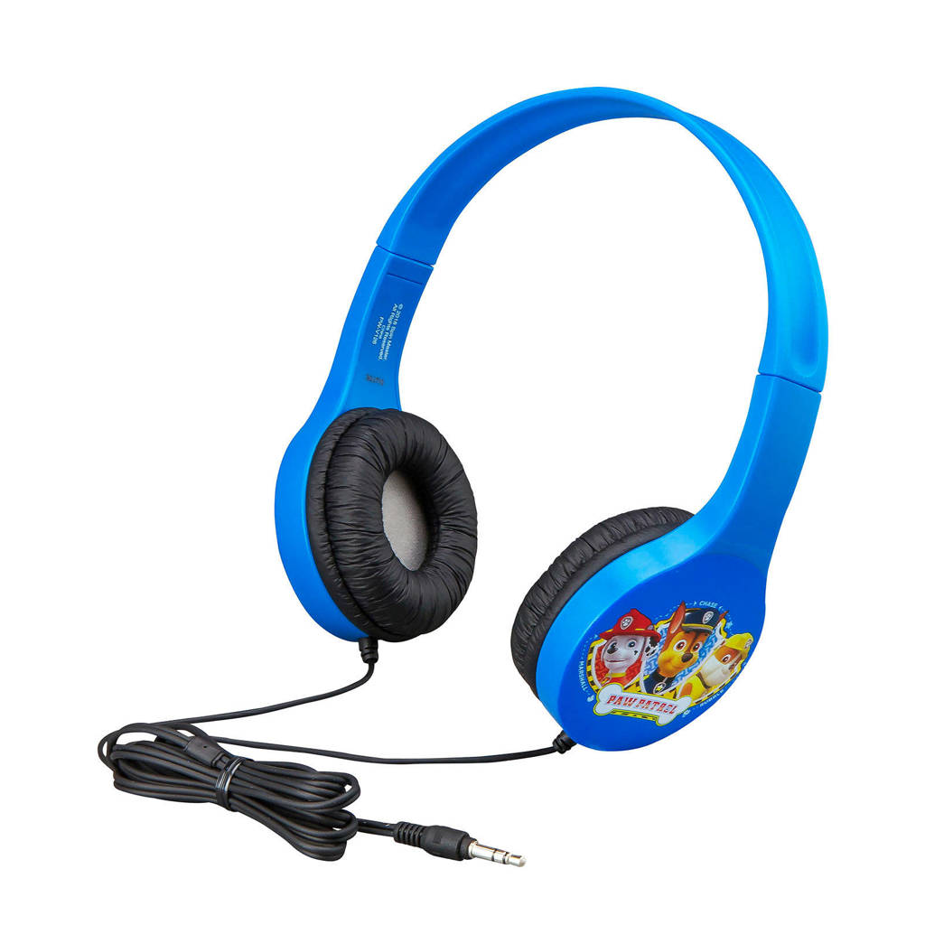 Paw Patrol  kinder hoofdtelefoon, Blauw