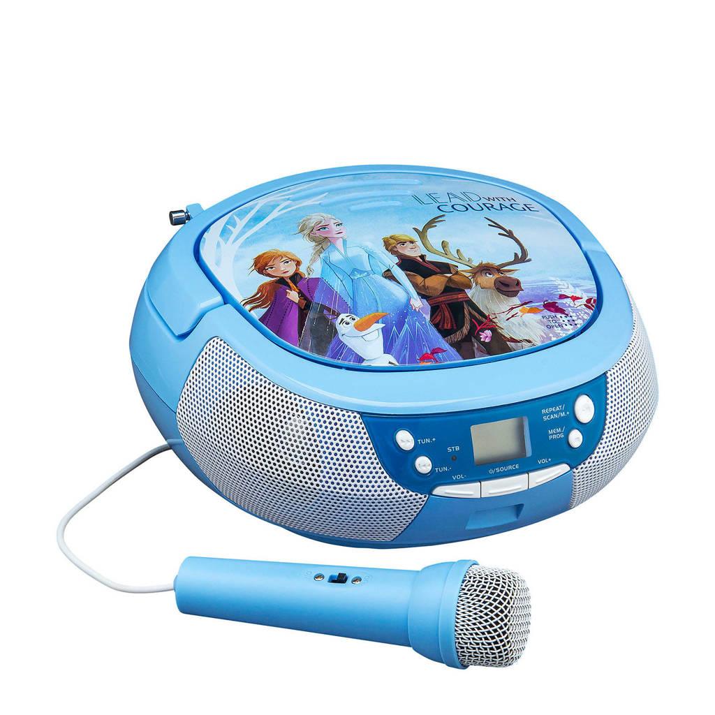 Disney Frozen 2 CD boombox met microfoon