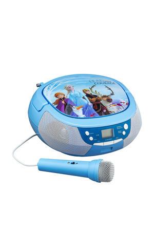 CD boombox met microfoon