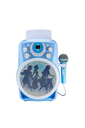 Karaoke-machine met microfoon en licht
