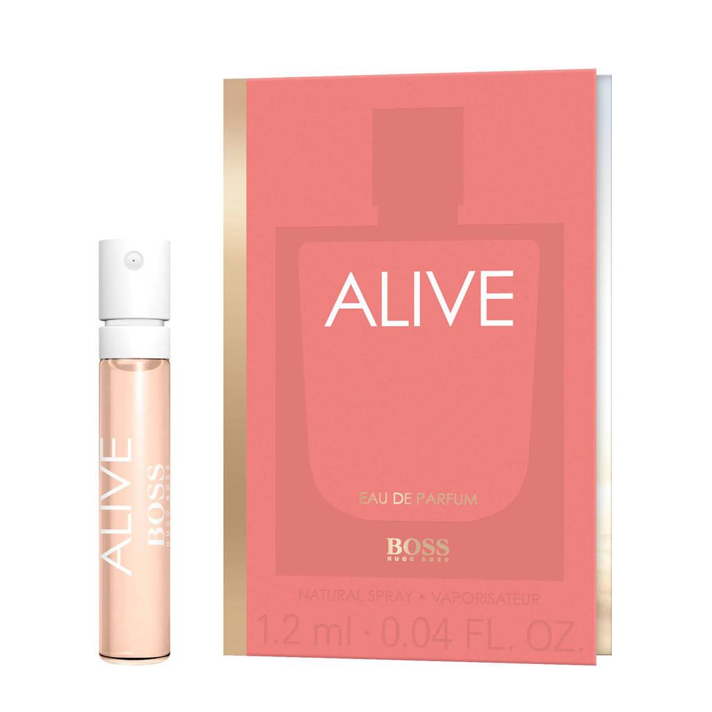 BOSS ALIVE eau de parfum geursample - 1.2 ml