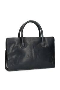 Manfield   handtas donkerblauw, Donkerblauw