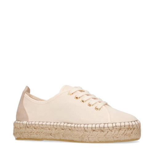 Manfield espadrille sneakers beige
