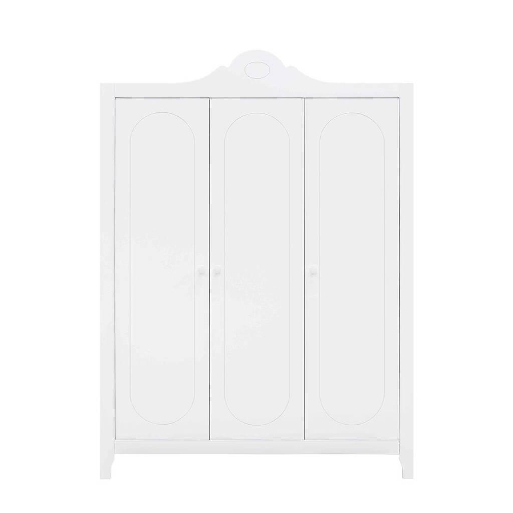 Bopita 3-deurs kledingkast Evi wit, Wit