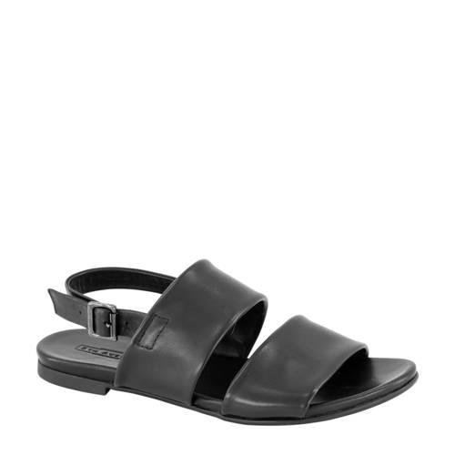 5th Avenue leren sandalen zwart