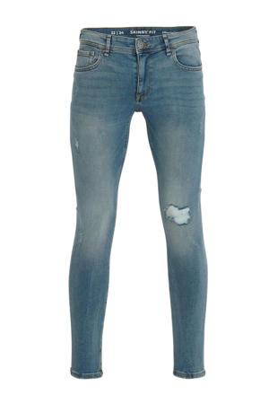 skinny jeans blauw
