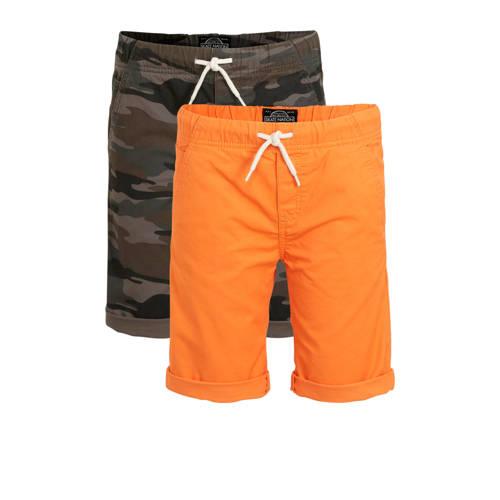 C&A Here & There bermuda - set van 2 oranj