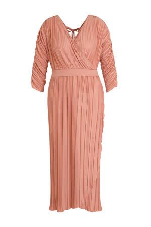 maxi jurk roze