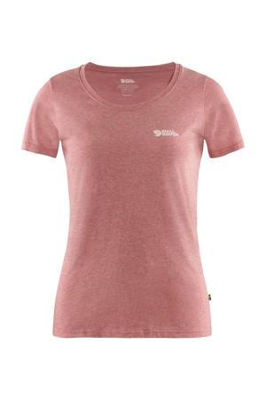 outdoor T-shirt geel