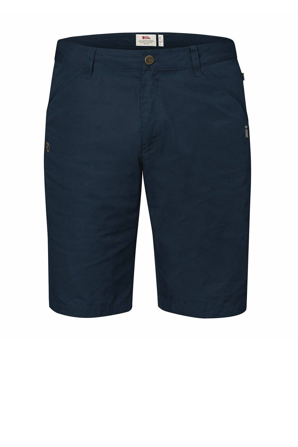 Fjällräven outdoor short High Coast donkerblauw, Donkerblauw