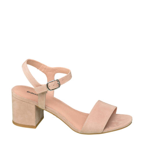 Graceland sandalettes lichtroze