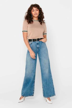 high waist loose fit jeans Mai blauw