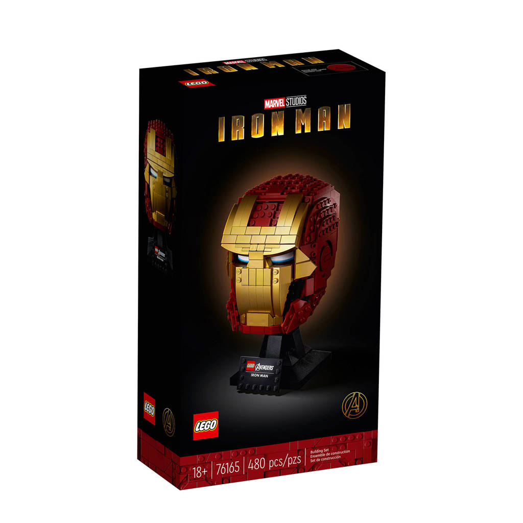 LEGO Super Heroes Iron Man Helm 76165, Multi kleuren