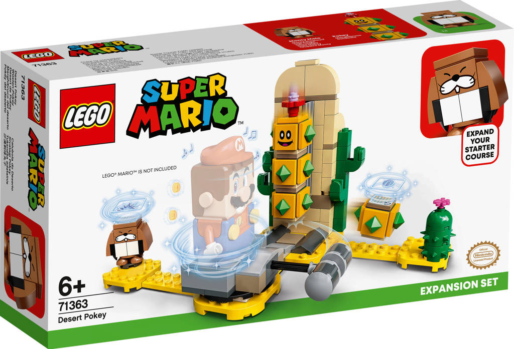 LEGO Super Mario Uitbreidingsset Desert Pokey 71363, Multi kleuren