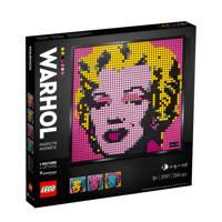 LEGO Art Andy Warhol's Marilyn Monroe 31197, Multi kleuren