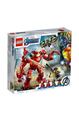 Iron Man Hulkbuster versus A.I.M. Agent 76164
