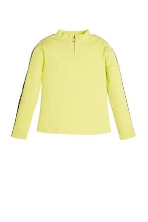 top Rib LS T-shirt groengeel
