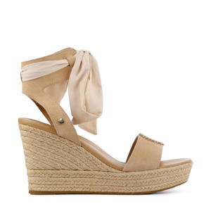 Wittley 1108534 suède sandalettes beige