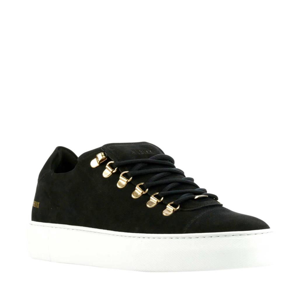 Nubikk Jagger Classic II  nubuck sneakers zwart, Zwart